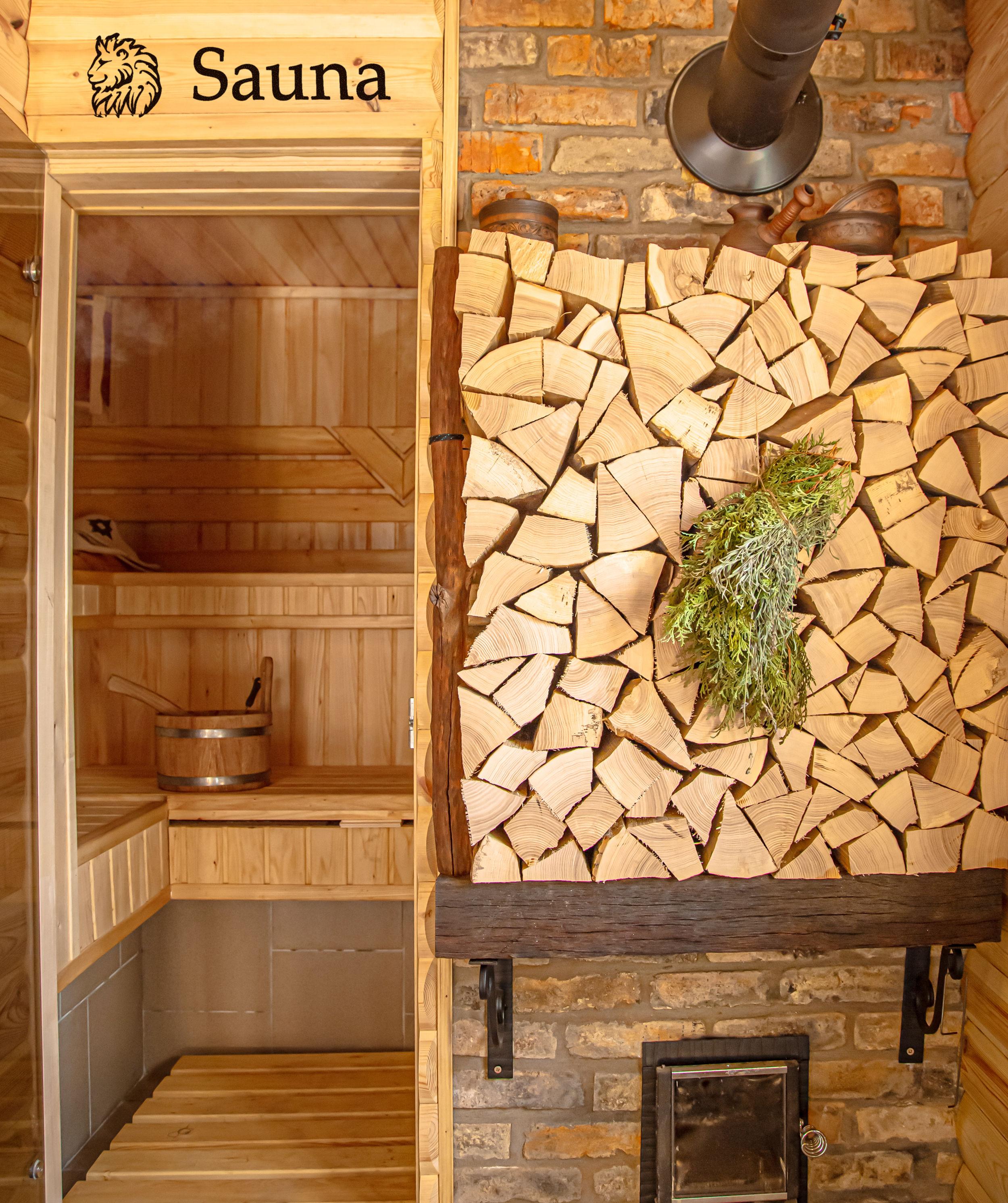 Villa Leoncin sauna