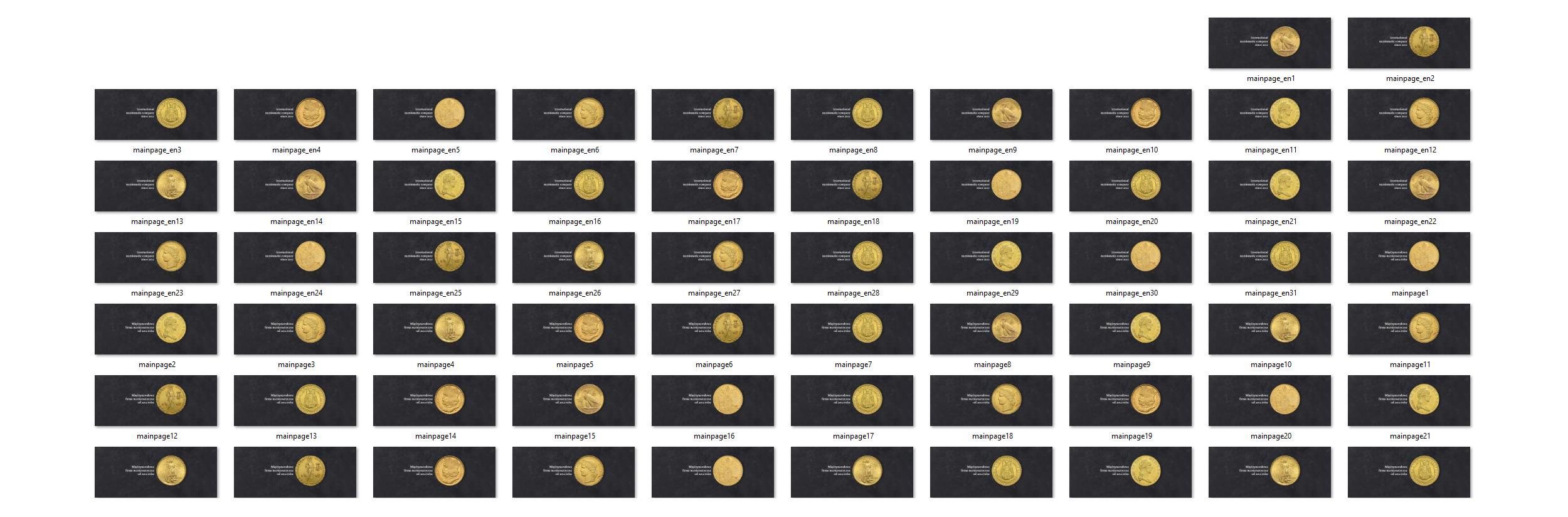 Soliscoins website coins