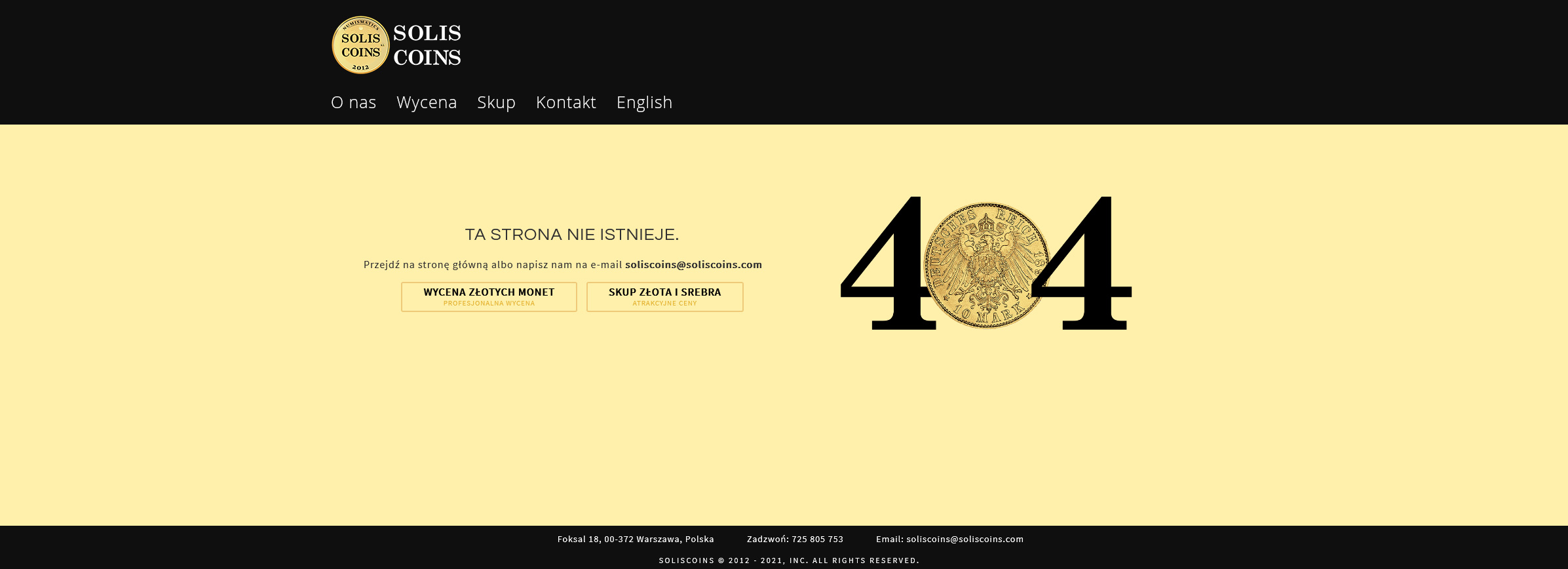 404 website page